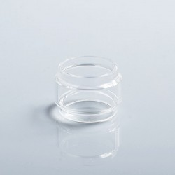 Authentic Vapesoon Replacement Bubble Tank Tube for Eleaf Ello Duro Tank / iJust 3 Kit - Transparent, Glass, 6.5ml