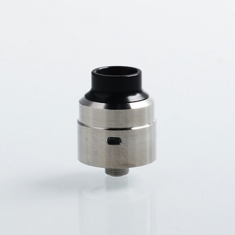 SXK Venom Atty Style BF RDA Rebuildable Dripping Atomizer w/ BF Pin - Silver, 316 Stainless Steel, 22mm Diameter