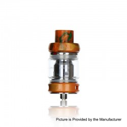 Authentic Freemax Mesh Pro Sub Ohm Tank Clearomizer - Orange, Stainless Steel + Resin, 5ml / 6ml, 25mm Diameter