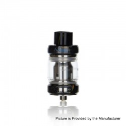 Authentic Freemax Mesh Pro Sub Ohm Tank Clearomizer - Black, Stainless Steel + Resin, 5ml / 6ml, 25mm Diameter