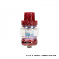 Authentic Horizon Falcon Sub Ohm Tank Clearomizer - Red, Stainless Steel + Resin, 0.16 Ohm, 7ml, 25mm Diameter