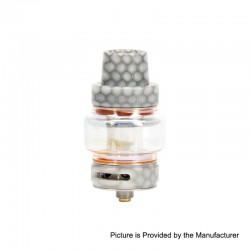 Authentic Horizon Falcon Sub Ohm Tank Clearomizer - White, Stainless Steel + Resin, 0.16 Ohm, 7ml, 25mm Diameter