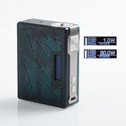 Authentic Tesla DB 219W TC VW Variable Wattage Box Mod - Green, PEI, 2 x 18650