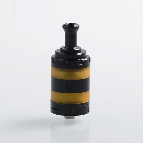 Authentic VXV Soulmate RTA Rebuildable Tank Atomizer - Black, 4ml, Stainless Steel, 24mm Diameter