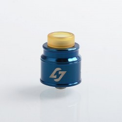 Authentic Hotcig Hades RDA Rebuildable Dripping Atomizer w/ BF Pin - Blue, Stainless Steel, 24mm Diameter