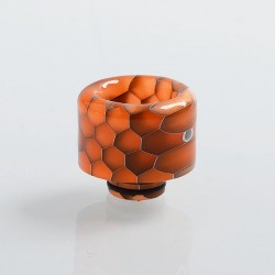 510 Replacement Drip Tip for RDA / RTA / Sub Ohm Tank Atomizer - Orange, Resin, 16mm