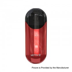 Authentic Wismec Motiv 2 500mAh Pod System Starter Kit - Red, 3ml