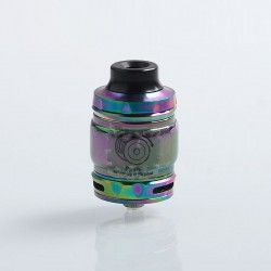 Authentic Wotofo Flow Pro SubTank Sub Ohm Tank Clearomizer - Rainbow, Stainless Steel, 5ml, 25mm Diameter, 0.18 Ohm