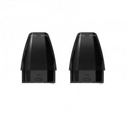 Authentic Suorin Replacement Refillable Pod Cartridge for Vagon Starter Kit - Balck, 2.5ml (2 PCS)