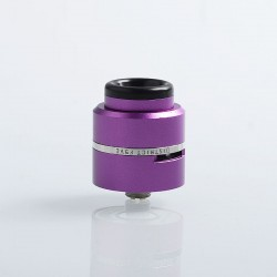 Layercake CSMNT V2 Style RDA Rebuildable Dripping Atomizer w/ BF Pin - Purple, Aluminum + Stainless Steel, 24mm Diameter