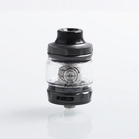 Authentic Wotofo Flow Pro SubTank Sub Ohm Tank Clearomizer - Gun Metal, Stainless Steel, 5ml, 25mm Diameter, 0.18 Ohm