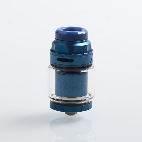 Authentic Augvape Intake RTA Rebuildable Tank Atomizer - Blue, Stainless Steel, 4.2ml, 24mm Diameter