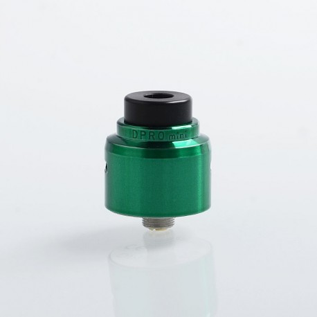 Authentic CoilART DPRO Mini RDA Rebuildable Dripping Atomizer w/ BF Pin - Green, Stainless Steel, 22mm Diameter