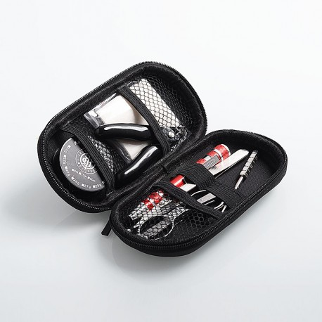 Authentic ThunderHead Creations THC Jax Tool Kit for Vape - Screwdriver + Pliers + Scissors + Tweezers + Coiling Jig