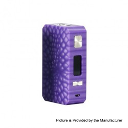Authentic Eleaf Saurobox 220W TC VW Variable Wattage Box Mod - Purple, 2 x 18650