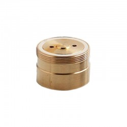 Authentic ThunderHead Creations THC Replacement Fire Button for Tauren Mech Mod - Brass, Brass