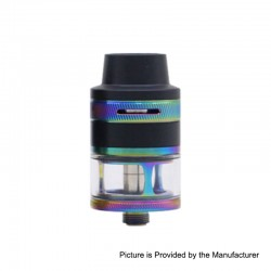 Authentic Aspire Revvo Mini Sub Ohm Tank Clearomizer - Rainbow, Stainless Steel, 2ml, 22mm Diameter
