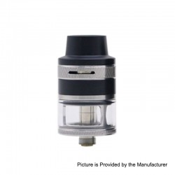 Authentic Aspire Revvo Mini Sub Ohm Tank Clearomizer - Silver, Stainless Steel, 2ml, 22mm Diameter