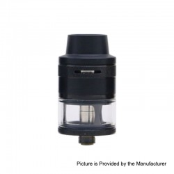 Authentic Aspire Revvo Mini Sub Ohm Tank Clearomizer - Black, Stainless Steel, 2ml, 22mm Diameter