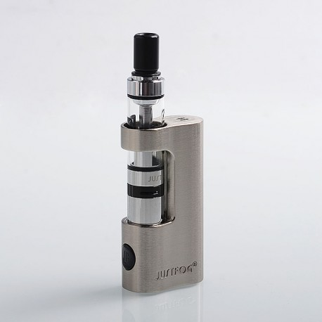 Authentic Justfog Q14 900mAh Compact Kit - Silver, 1.8ml, 1.6 Ohm