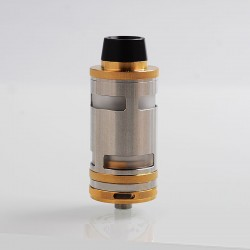 ShenRay Typhoon GT4 Style RTA Rebuildable Tank Atomizer - Gold, 316 Stainless Steel, 5ml, 25mm Diameter