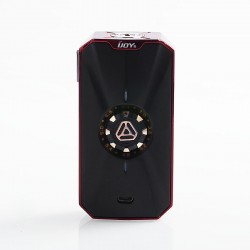 Authentic IJOY Zenith 3 VV Variable Voltage Box Mod - Mirror Red, 2.7~7.2V, 2 x 18650 / 20700