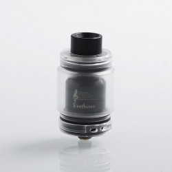 Authentic Ystar Beethoven RTA Rebuildable Tank Atomizer - Black, Resin + Stainless Steel, 5.5ml, 24.7mm Diameter