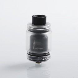Authentic Ystar Beethoven RTA Rebuildable Tank Atomizer - Black, Resin + Stainless Steel, 5.5ml, 24.7mm Diameter