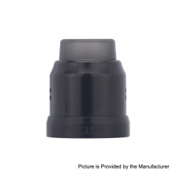 Authentic Wotofo 22mm Conversion Cap for Recurve RDA - Black