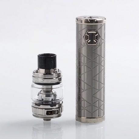Authentic Eleaf iJust 3 80W 3000mAh Mod + ELLO Duro Tank Kit - Silver, 6.5ml, 0.15 / 0.2 Ohm