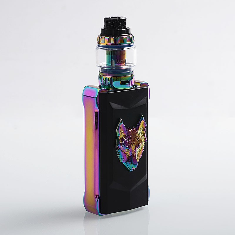 Authentic Snowwolf Mfeng Kit Limited Edition 200w Rainbow