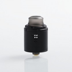 Authentic Digiflavor Drop Solo RDA Rebuildable Dripping Atomizer w/ BF Pin - Black, Stainless Steel, 22mm Diameter