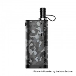 Authentic Fumytech Purely Pocket 2300mAh Starter Kit - Camouflage, 0.7 Ohm/ 0.9 Ohm, 3ml