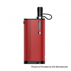 Authentic Fumytech Purely Pocket 2300mAh Starter Kit - Red, 0.7 Ohm/ 0.9 Ohm, 3ml