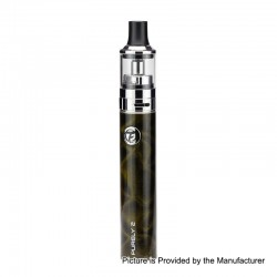 Authentic Fumytech Purely 2 1650mAh Starter Kit - Black, 0.7 Ohm / 0.9 Ohm, 3.2ml
