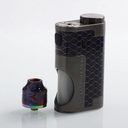 Authentic Oumier Wasp Nano Mechanical Squonk Kit - Purple, 1 x 18650, 8ml