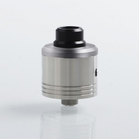 YFTK Skyfall Style RDA Rebuildable Dripping Atomizer w/ BF Pin - Silver, 316 Stainless Steel, 22mm Diameter