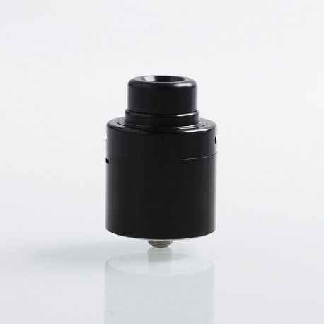 Authentic Cthulhu Zathog RDA Rebuildable Dripping Atomizer w/ BF Pin - Black, Stainless Steel, 30mm Diameter