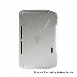 Authentic Tesla Invader IV 280W VV Variable Voltage Box Mod - Silver, 3~8V, 1 x 18650 / 20700 / 21700