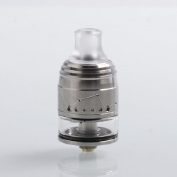 Authentic Vapefly Galaxies MTL Squonk RDTA Rebuildable Dripping Tank Atomizer w/ BF Pin - Silver, 2ml, 22mm Diameter
