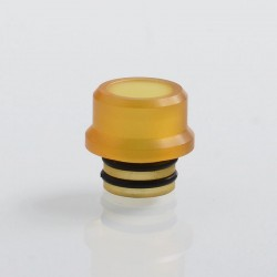 Coppervape Replacement 510 Drip Tip for Skyfall Style RDA - Yellow, PEI, 12mm