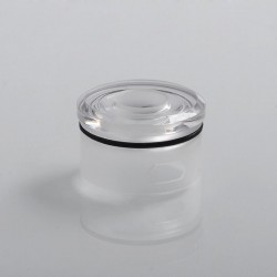 Coppervape Replacement Top Cap for Skyfall Style RDA - Transparent, PC