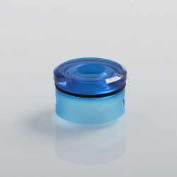 Coppervape Replacement Top Cap for Skyfall Style RDA - Blue, PC