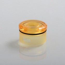 Coppervape Replacement Top Cap for Skyfall Style RDA - Yellow, PC