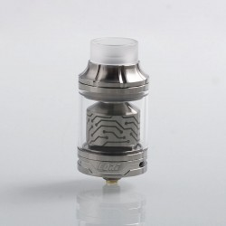Authentic Vapefly x German 103 Team Core RTA Rebuildable Tank Atomizer - Silver, Stainless Steel, 4ml, 25mm Diameter