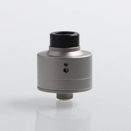 SXK Haku Venna Style RDA Rebuildable Dripping Atomizer w/ BF Pin - Silver, 316 Stainless Steel, 22mm Diameter