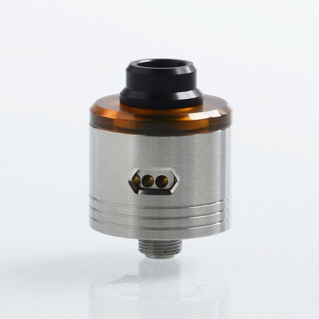 SXK Skyfall Style RDA Rebuildable Dripping Atomizer w/ BF Pin - Silver, 316 Stainless Steel, 22mm Diameter