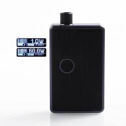 SXK BB Style 70W All-in-One Box Mod Kit w/ USB Port - Purple, Aluminum, 1 x 18650