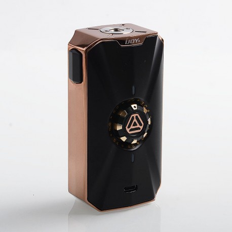 Authentic IJOY Zenith 3 VV Variable Voltage Box Mod - Mirror Gold, 2.4~6.9V, 2 x 18650 / 20700