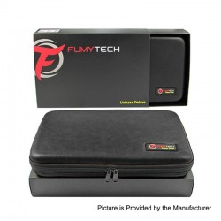 Authentic Fumytech Unikase Deluxe XL Multi-functional Case Bag for E-Cigarette - Black